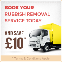 Book Your Rubbish Removal Today and Save £10!